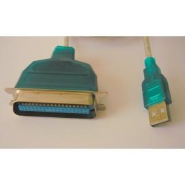 Adattatore da USB a PARALLELA STAMPANTE