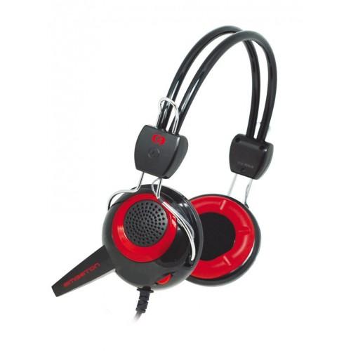 Cuffia stereo Hi-Fi con microfono EMGETON E11C