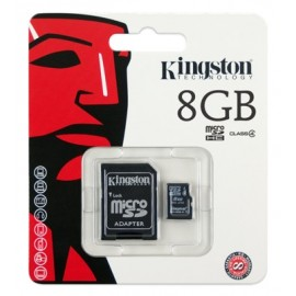 Micro SD HC 8GB Kingston Classe 4