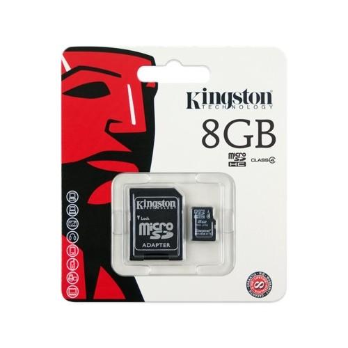 Micro SD HC 8GB Kingston Classe 4