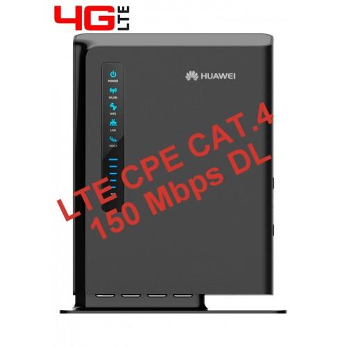 ROUTER 4G CPE LTE CAT.4 HUAWEI E5172 -GATEWAY + ATA VOIP + CONN. ANT. EST.