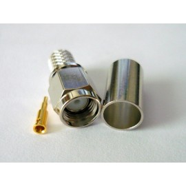 SMA male connector for H155 and LMR240 low loss cable