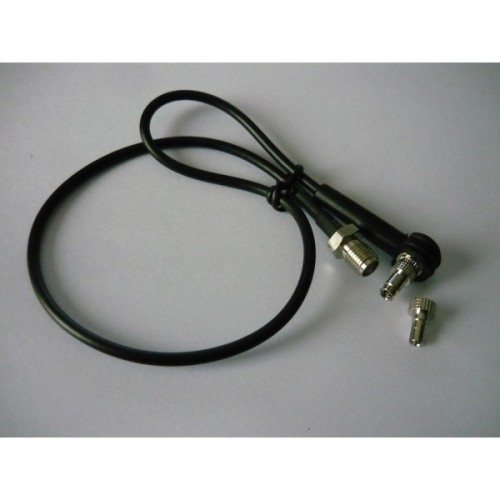 CABLE ADAPTOR FROM TS9/CRC9 TO SMA FEMALE - 32CM.