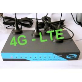 ROUTER E-LINS 4G LTE H820-t FINO A 100MBPS DL / 50MBPS UL