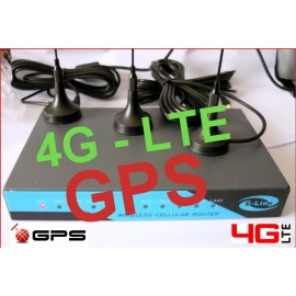 ROUTER E-LINS 4G LTE WITH GPS H820-t FINO A 100MBPS DL / 50MBPS UL