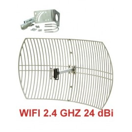 Antenna Parabolica WiFi 2.4 Ghz - 24dBi
