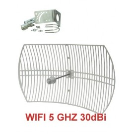 Antenna Parabolica WiFi 5 Ghz - 30dBi