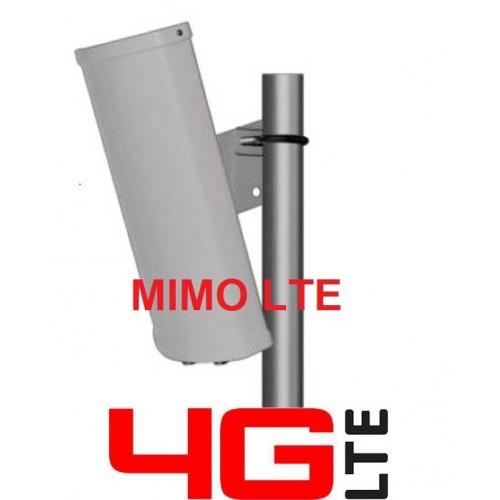 MRT 15 ANTENNA LTE 3G MIMO DOPPIA POLARIZZAZIONE - 13/14dBi - CONN. TIPO N-F