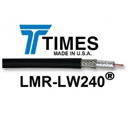 COAXIAL RF CABLE LMR240 - RF240 - 50 OHM -