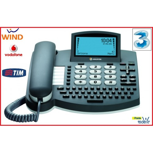 TELEFONO DESKTOP 3G GSM JABLOCOM GDP-04i HOME AND OFFICE