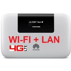 ROUTER 3G HUAWEI E5770s-320 4G LTE CAT.4 WIFI + LAN + BATTERY PACK 5200MAH