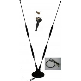 Antenna for 4G LTE 3G HSPA+ Diablo Omnidirectional Duoble CRC9+TS-9