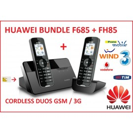 CORDLESS DUOS 3G GSM PHONE HUAWEI F685 +FH85