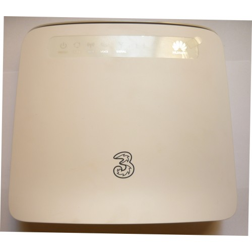 """ROUTER HUAWEI E5186-s22a """"3"""" 4G LTE CAT.6 300MBPS - CON ANT. EST. + RJ11 per TEL. ANALOGICO - VOIP"""