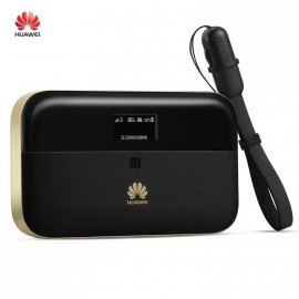 ROUTER 3G HUAWEI E5885 4G LTE CAT.6 300Mbps WIFI + LAN + BATTERY PACK 6400MAH