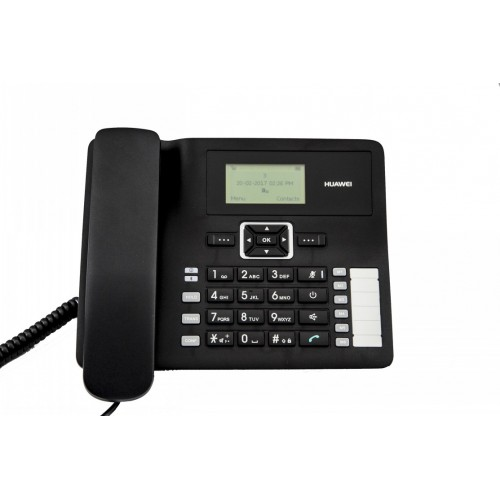 DESKTOP PHONE 3G GSM HUAWEI F617 with BLUETOOTH FOR HOME AND OFFICE