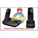 TELEFONO CORDLESS 3G GSM DUOS HUAWEI F688 + F88H CON FUNZIONE INTERFONO - RICONDIZIONATO
