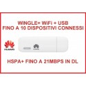 "INTERNET KEY Huawei E8372 ""BOLT"" 4G LTE WINGLE USB+WIFI - 150Mbps in DL"
