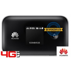ROUTER 4G LTE CAT.4 HUAWEI E5377T 3560mAh WIFI 2.4 & 5.0 Ghz- 150Mbps DL / 50 Mbps UL