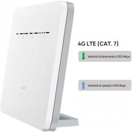 ROUTER HUAWEI B525-232 4G LTE CAT.7 - WIFI 2.4 & 5.0 GHZ - 4 LAN GIGABIT