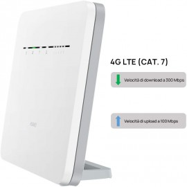 ROUTER HUAWEI B525-232 4G LTE CAT.7 - WIFI 2.4 & 5.0 GHZ - 4 LAN GIGABIT