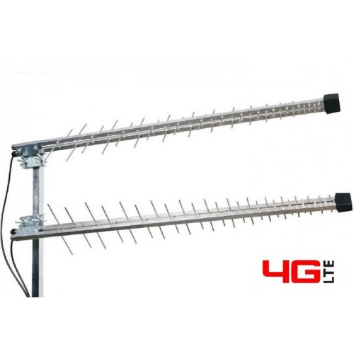 Antenna Log. MRT-8727L for 4G LTE / 3G WITH H155 10mt. CABLE AND SMA-M