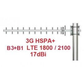 ANRT-400 YAGI LTE B3+B1 (1800/2100Mhz) 3G UMTS 17dBTENNA Mi