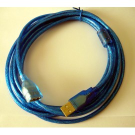 Cavo prolunga USB (maschio/femmina) - 1,8 Mt.
