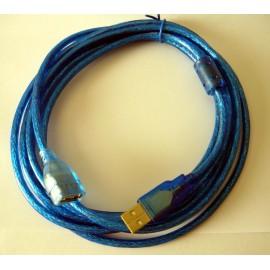 Cavo prolunga USB (maschio/femmina) - 3 Mt.